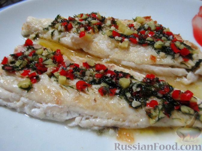 рецепт соус для жареной рыбы