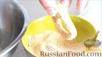 Кольца кальмара в панировке в духовке - рецепт пошаговый с фото