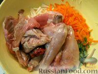 Фото приготовления рецепта: Кролик в вине - шаг №7