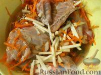 Фото приготовления рецепта: Кролик в вине - шаг №8