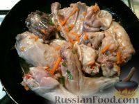 Фото приготовления рецепта: Кролик в вине - шаг №10