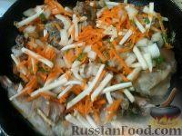Фото приготовления рецепта: Кролик в вине - шаг №11