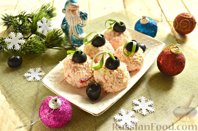 закуска сырные шарики рецепт новогодняя закуска