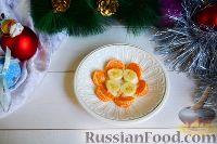 """Фото приготовления рецепта: Фруктовый салат """"Новогодняя ёлка"""" - шаг №5"""