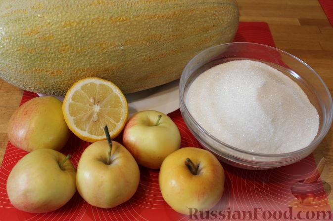 джем из яблок с дыней рецепт с фото
