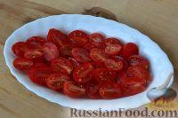 Фото приготовления рецепта: Маринованные помидоры черри с базиликом - шаг №2