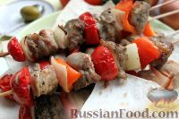 Фото к рецепту: Сувлаки из свинины