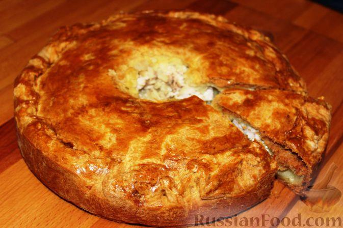 курник с сыром рецепт