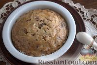 Фото к рецепту: Медовый пудинг с изюмом и кокосовой стружкой (в мультиварке)