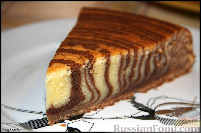 Торт зебра рецепт с фото самый вкусный рецепт