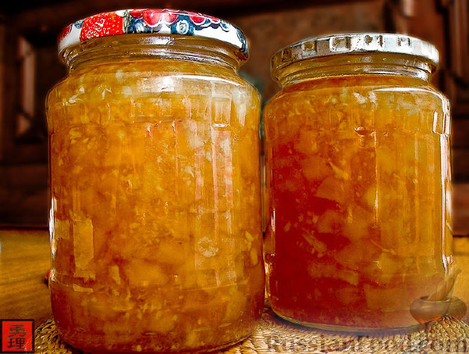 рецепт варенья из кабочков с апельсином