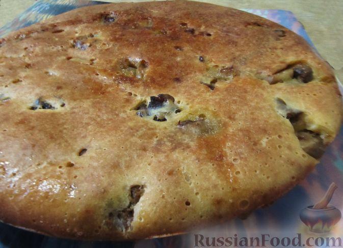 Заливной пирог с мясом - Пошаговый рецепт с фото Выпечка