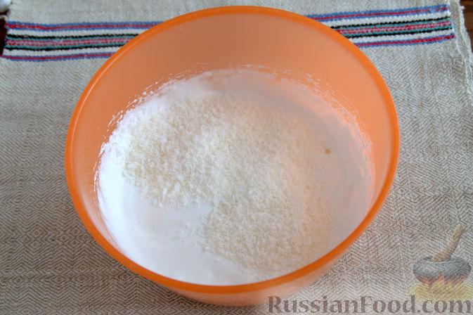 фоторецепт безе кокосовое