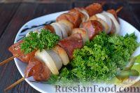 Фото к рецепту: Шашлык из печени