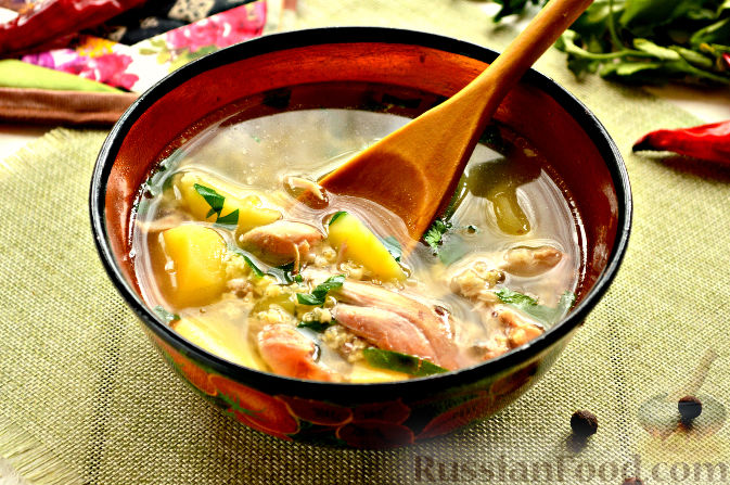 рецепты крестьянского супа