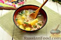 Фото приготовления рецепта: Суп крестьянский - шаг №8
