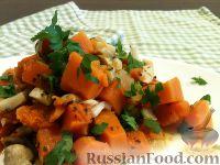 Яркое картофельное рагу с тыквой, свеклой и брокколи - рецепт пошаговый с фото