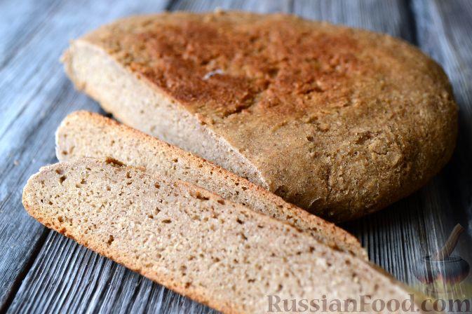 Ржаной хлеб в мультиварке рецепт из ржаной муки без дрожжей ... | 448x673
