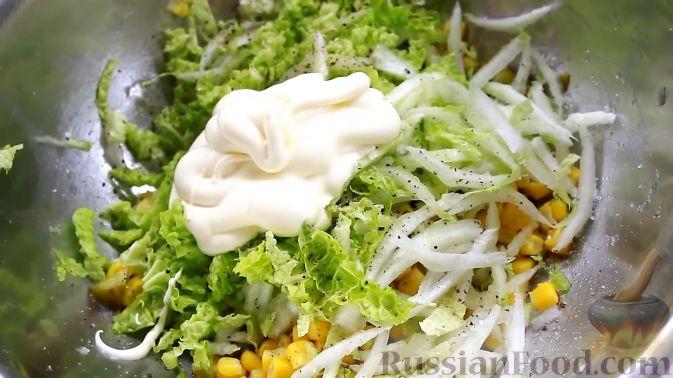 Салат из пекинской капусты. Рецепт с фото 77