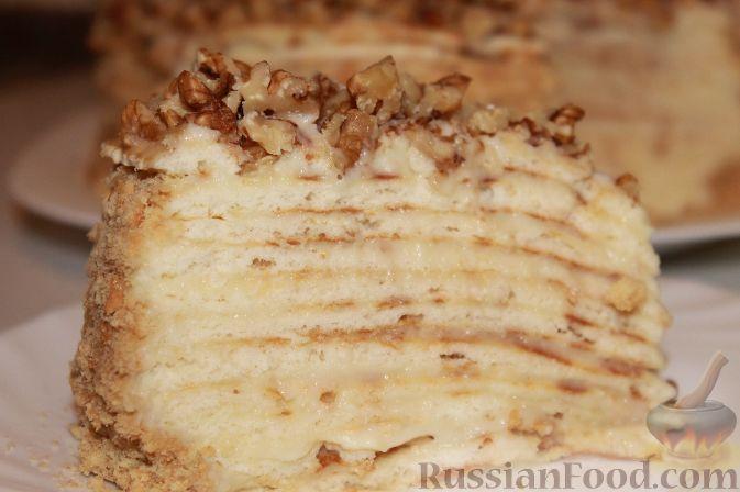 Крем для торта на сковороде