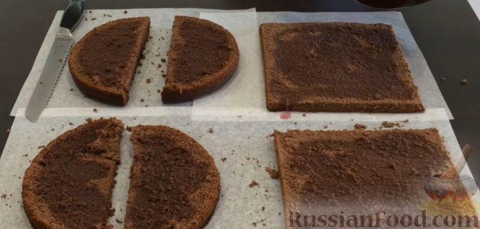 Как сделать торт в виде сердец 289