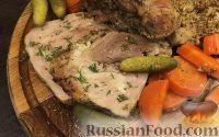 Буженина из свинины в духовке - рецепт пошаговый с фото