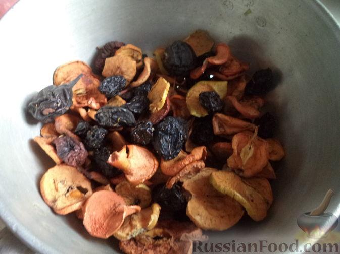 как приготовить из смеси компот
