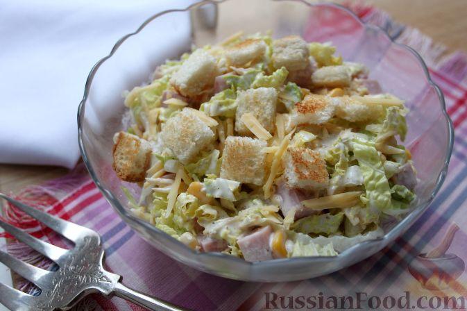 Салат из пекинской капусты. Рецепт с фото 41