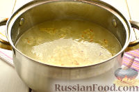Фото приготовления рецепта: Чихиртма (куриный суп по-грузински) - шаг №7