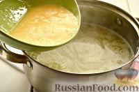 Фото приготовления рецепта: Чихиртма (куриный суп по-грузински) - шаг №8