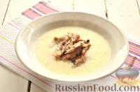 Фото приготовления рецепта: Чихиртма (куриный суп по-грузински) - шаг №10