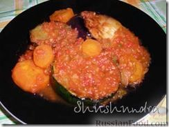 Рецепт Ассорти из кабачков, баклажанов и моркови с овощной икрой