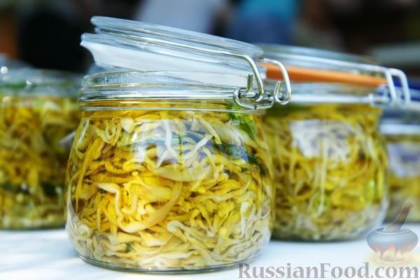 Рецепт Маринованные баклажаны по-сицилийски (сырые)