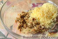 Фото приготовления рецепта: Горячие бутерброды «Лодочки» - шаг №5