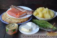 Фото приготовления рецепта: Роллы из блинчиков - шаг №1
