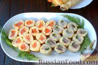 Фото приготовления рецепта: Роллы из блинчиков - шаг №13