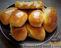 Фото к рецепту: Пирожки с капустой и яйцом