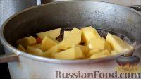 Фото приготовления рецепта: Шурпа из говядины - шаг №4