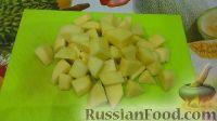 Фото приготовления рецепта: Куриный суп с плавленым сыром - шаг №4
