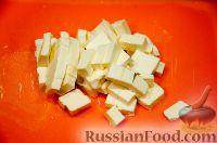 Фото приготовления рецепта: Куриный суп с плавленым сыром - шаг №5