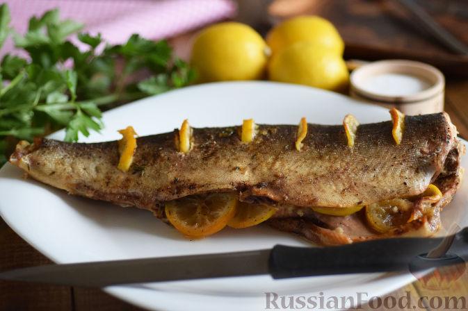 Горбуша запеченная рецепт пошагово