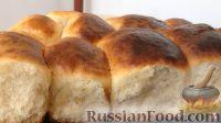 Фото к рецепту: Сдобные булочки (пирожки) с мясом и капустой