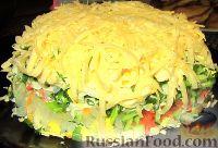 Фото к рецепту: Весенний салат из овощей, зелени, яиц и сыра
