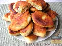 Фото к рецепту: Жареные пирожки с картофельной начинкой