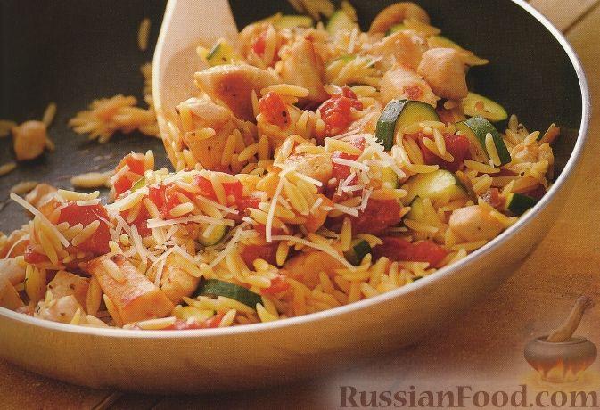 Рецепт с макаронами орзо 4