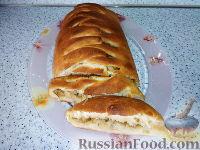 Фото к рецепту: Постный пирог с капустой
