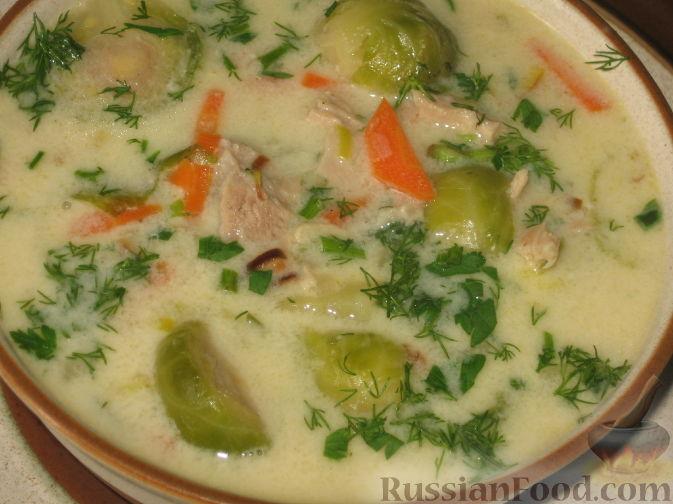 суп из брюссельской капусты рецепт