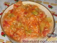 Фото к рецепту: Консервированный салат с рисом