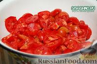Фото приготовления рецепта: Салат с грибами на зиму - шаг №5