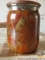 Фото к рецепту: Соте из баклажанов на зиму